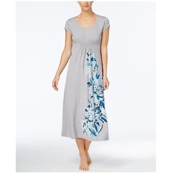 edbe88e3cf Alfani Floral Print Knit Nightgown